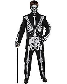 Kids Bone Daddy Suit Costume
