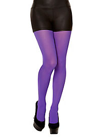 Opaque Purple Tights