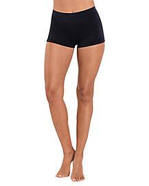 Adult Seamless Black Shapewear Shorts