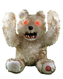 8.3 Inch Peek A Boo Smile Teddy Animatronics - Decorations