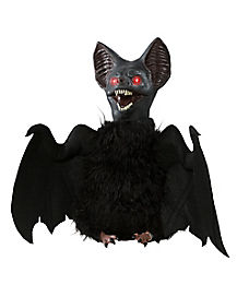 Flapping Upside Down Bat Animatronic