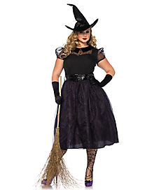 Adult Darling Spell Caster Plus Size Costume