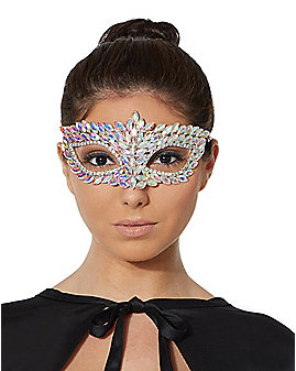 Iridescent Diamond Mask
