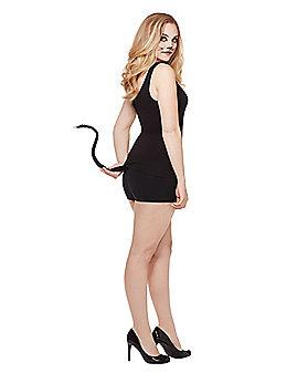 Fancy Black Cat Tail