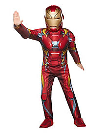 Kids Iron Man Costume Deluxe - Marvel