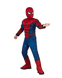 Kids Spiderman Costume Deluxe – Marvel Civil War