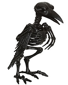 Black Crow Skeleton Decoration