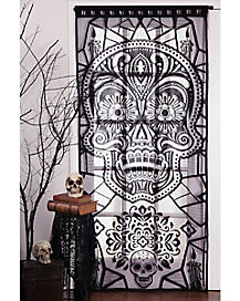 Sugar Skull Door Panel - Decorations