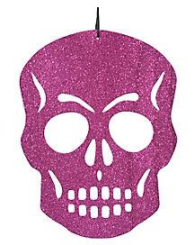 Pink Skull Cutout