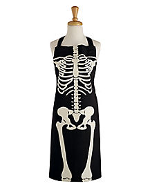Adult Skeleton Apron
