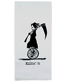 Cheeky Reaper Dish Towel