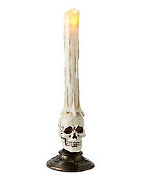 Skull Base LED Candle - Decoration