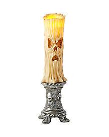 Scary Face LED Candle - Decoration