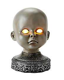 Light Up Baby Head - Decoration
