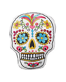 Sugar Skull Pillow - Decorations