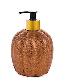 Glitter Pumpkin Soap - Decorations