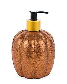 Glitter Pumpkin Soap - Decorations
