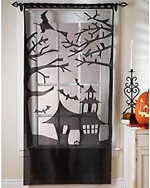Haunted House Door Panel - Decorations
