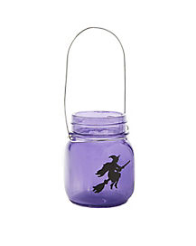 Witch Candle Holder