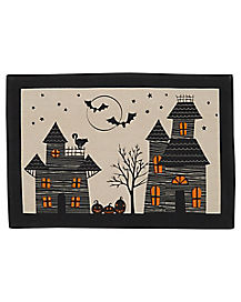 Haunted House Placemat