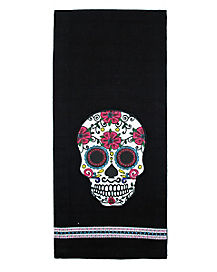 Sugar Skull Dishtowel