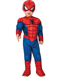 Toddler Spider-Man One Piece Costume - Marvel Comics