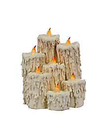 Haunted Mansion LED Candle Cluster