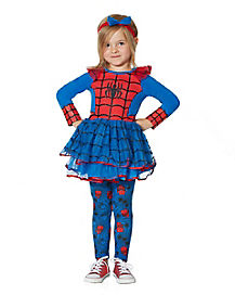 Toddler Spider-Girl Dress Set - Marvel Comics