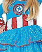 Toddler Captain America Dress Set - Marvel Comics