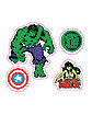 Marvel Decal 16 Pack - Marvel Comics