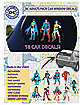 DC Comics Decals 18 Pack - DC Comics