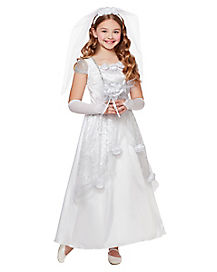 Kids Bride Costume