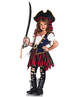 Kids Caribbean Pirate Costume