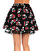 Adult Rose and Skull Skirt