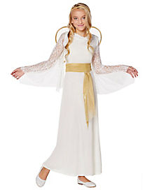 Kids Lace Angel Costume