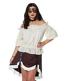 Adult Steampunk Top