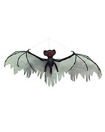 2.5 Ft Hanging Gray Bat - Decorations