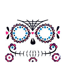Kids Day of the Dead Face Decal