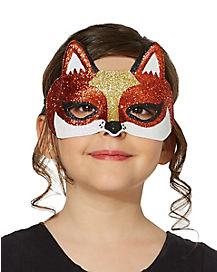 Glitter Fox Mask