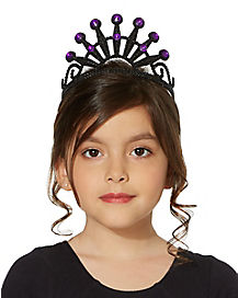 Black and Purple Twilight Tiara