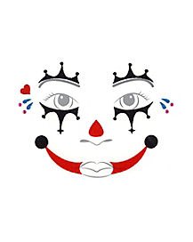Kids Twisted Clown Decal