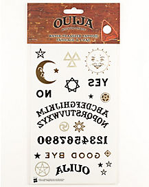 Ouija Board Temporary Tattoos - Hasbro