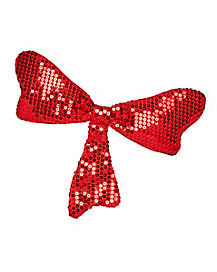 Sequin Bow Tie - Cat In The Hat