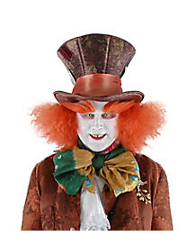 Mad Hatter Top Hat with Hair - Alice Through the Looking Glass