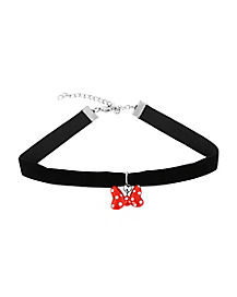 Kids Minnie Mouse Bow Choker Necklace - Disney