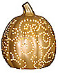 Light Up Copper Pumpkin - Decorations