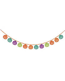 Multicolored Pumpkin Garland