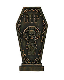 2 Ft RIP Skull Tombstone - Decorations