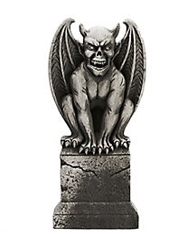 3 Ft Gargoyle Tombstone - Decorations