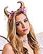 Adult Fairy Horn Headband